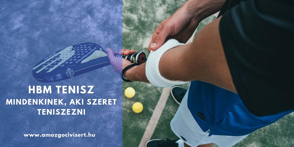 HBM Tenisz Portál – Mindenkinek, aki szeret teniszezni